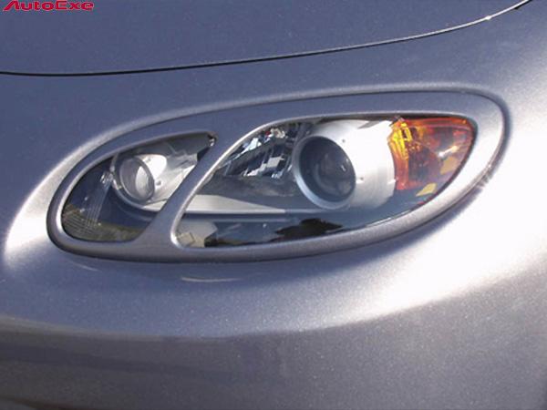 オートエクゼ ヘッドライトガーニッシュ [ロードスター 前期 NCEC 車体番号:~299999] AutoExe パーツ 新品