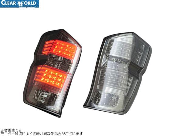 ClearWorld LEDテール インナークローム/スモークレンズ [ステップワゴン RK5] クリアワールド LEDテール 新品