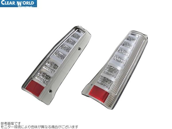 ClearWorld LEDテール クリアレンズ [ワゴンR MH21S/MH22S] クリアワールド LEDテール 新品