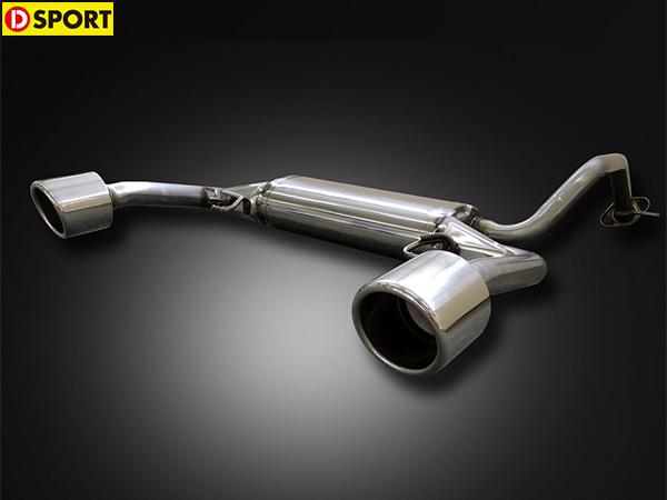 D-SPORT スポーツマフラー [コペン LA400K ローブ・XPLAY共通] Dスポーツ パーツ 新品