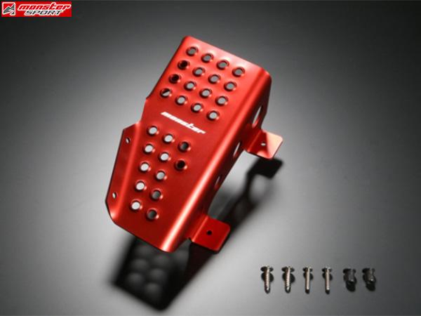 モンスタースポーツ フットレストセット レッド[スイフトスポーツ ZC31S MT車] MonsterSportパーツ 新品