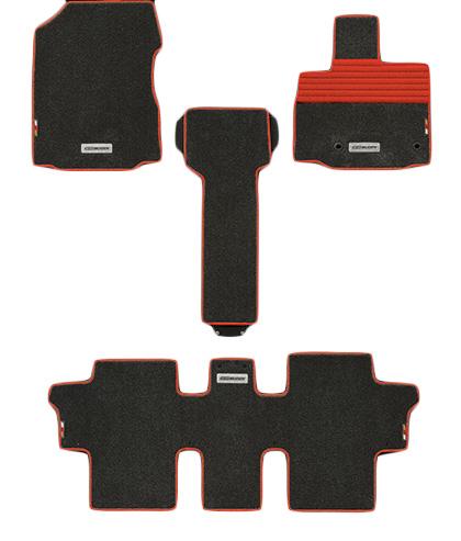 無限 スポーツマット ブラック×レッド [フリード+ハイブリッド GB8 H28/9~H30/3 ] mugen 新品
