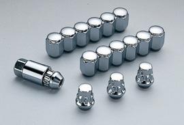 無限 ロックナットセット シルバーメッキ [グレイス GM4/GM5/GM6/GM9 H26/12~] mugen 新品