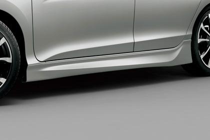 無限 品番:70219-XMP-K0S0-TS サイドスポイラー TS タイムセール グレイス GM4 GM5 新作送料無料 GM6 GM9 塗装済み 12~H29 6 mugen 新品 ティンテッドシルバー H26 メタリック