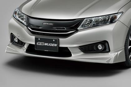 無限 フロントアンダースポイラー(RM) [グレイス GM4/GM5/GM6/GM9 H26/12~H29/6] mugen プレミアムクリスタルレッド・メタリック 塗装済み 新品