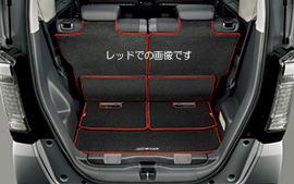 無限 ラゲッジマット ブラック [N BOX JF1/JF2 スライドシート非装備車用 H26/1~H29/9] mugen 新品