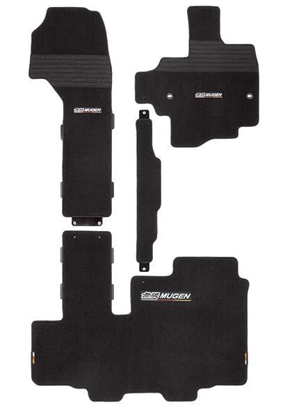 無限 スポーツマット スライドシート用 ブラック [N-BOXカスタム JF3/JF4 助手席スーパースライドシート車 H29/9~] mugen 新品