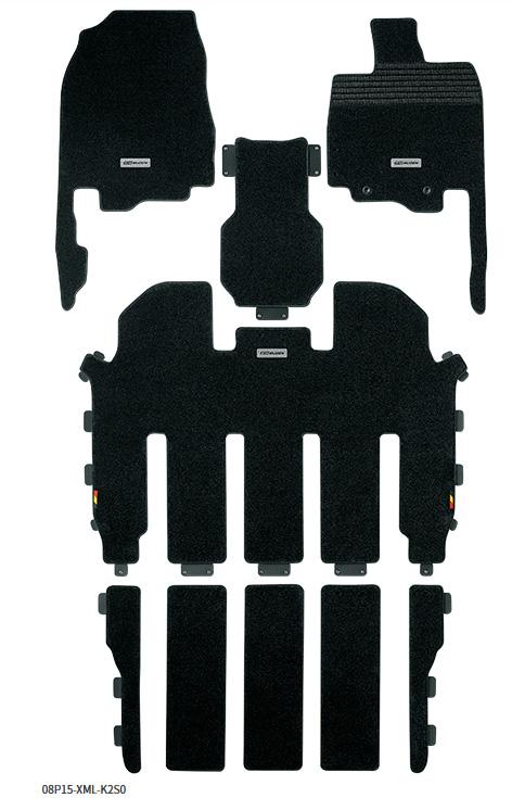 無限 スポーツマット [オデッセイ RC1 2列目プレミアムクレードルシート車 H25/10~H28/1] mugen 新品