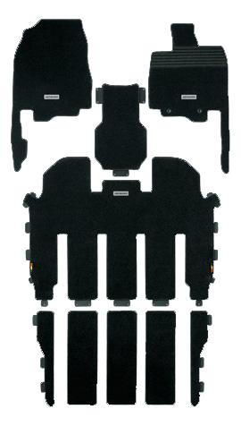 無限 スポーツマット [オデッセイ RC1 2列目プレミアムクレードルシートEX装備車 H25/10~H28/1] mugen 新品