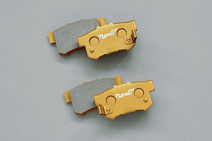 リア用 ツーリング mugen [オデッセイ ブレーキパッド H30/2~] RC1/RC2 新品 無限
