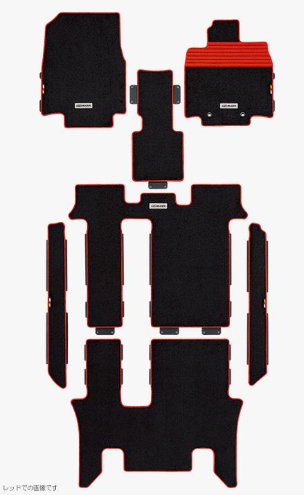 無限 スポーツマット [ステップワゴンスパーダ RP3/RP4 2列目6:4分割スライドシート装備車 H27/4~H29/8] mugen 新品