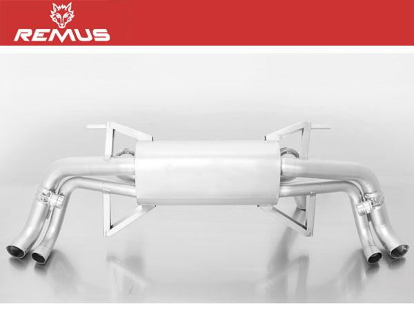 REMUS マフラー [アウディ R8 (4S) V10プラス 4SCSPD 5.2 FSI] レムスマフラー 正規品 代引手数料無料 送料無料