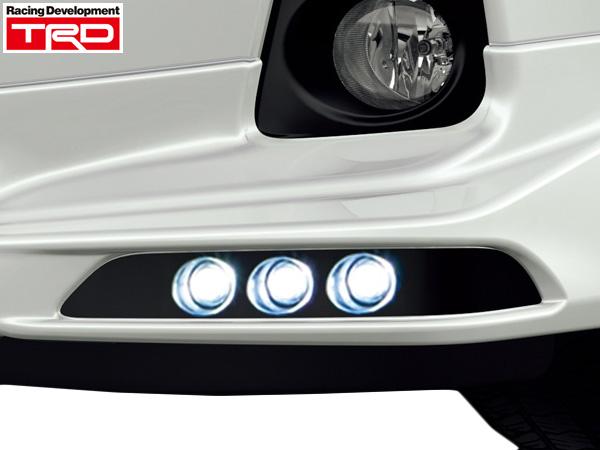 TRD LEDデイタイムランニングランプ [アクア NHP10 ~2014/12の前期用] 新品
