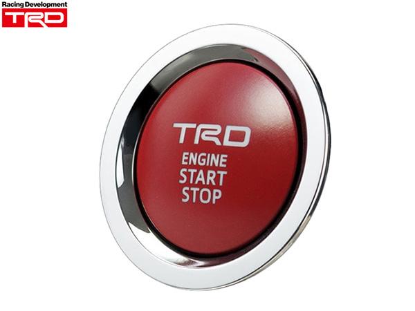 TRD プッシュスタートスイッチ [カローラアクシオ ZRE162・NZE161・NZE164・NRE160] 新品