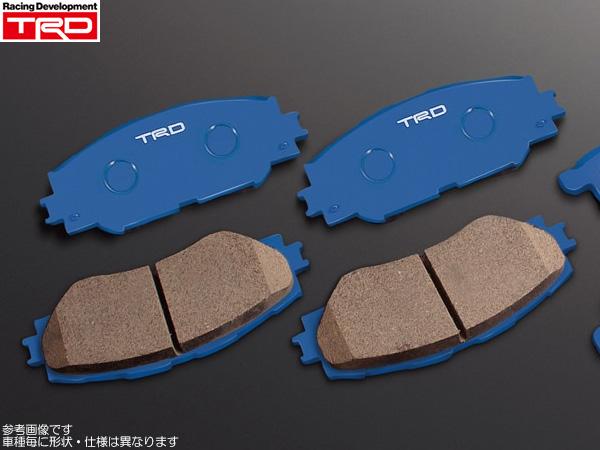 TRD品番:MS225-18001+MS226-18001 TRD ブレーキパッド ブルー 1台分 [86 ZN6 GT・GT-Limitedグレード用 前期] 新品
