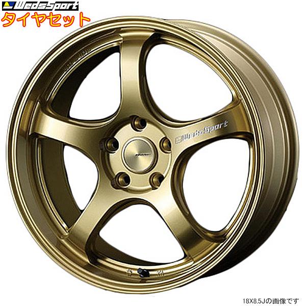 値段が激安 WedsSport RN05M+ATR RN-05M GOLD 18インチ タイヤセット [アクセラスポーツ BL5FW タイヤセット/BLFFW/BLEAW タイヤホイールセット/BLEFW用] RN05M+ATR SPORT セット F:215/40R18 R:215/40R18 タイヤホイールセット, ヌマクマチョウ:2a942b18 --- kventurepartners.sakura.ne.jp