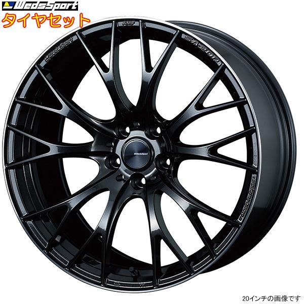 夏セール開催中 MAX80%OFF! WedsSport SA-20R タイヤセット METAL-BLACK/F 19インチ タイヤセット [アテンザワゴン GJEFW タイヤホイールセット SA-20R/GJ2FW/GJ2AW/GJ5FW用] SA20R+ATR SPORT セット F:225/45R19 R:225/45R19 タイヤホイールセット, キャメロン専門店 Himawari:b298afa3 --- kventurepartners.sakura.ne.jp