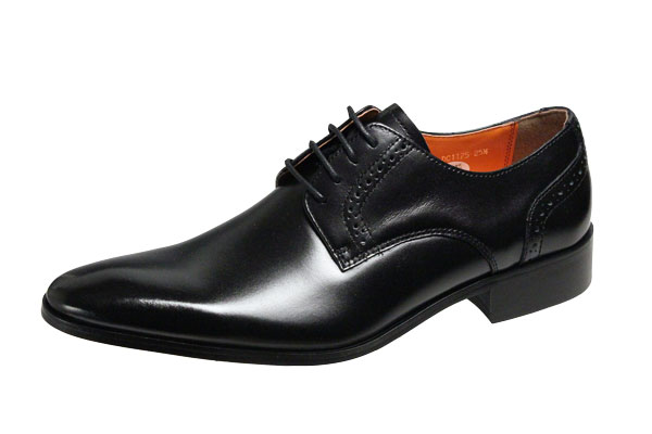 アントニオドカッティメンズシューズ1175ブラックANTONIO DUCATI紳士靴プレーン外羽根ドレスビジネスシューズ