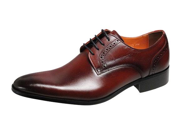アントニオドカッティメンズシューズ1175ワインANTONIO DUCATI紳士靴プレーン外羽根ドレスビジネスシューズ