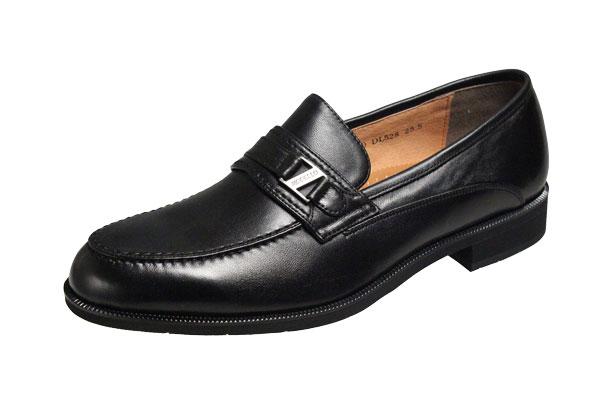 メンズシューズ マドラスモデロ ビジネスシューズ 528ブラック Uチップスリッポン紳士靴