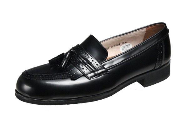 モデロメンズシューズ6122ブラック撥水牛革マドラス紳士靴キルトタッセル付スリッポン