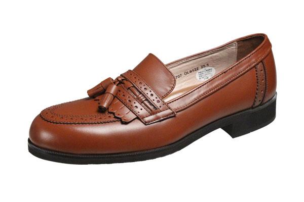 モデロメンズシューズ6122ブラウン撥水牛革マドラス紳士靴キルトタッセル付スリッポン