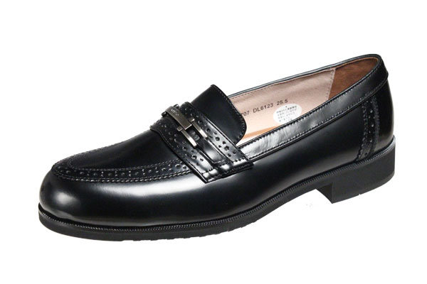 モデロメンズシューズ6123ブラック撥水牛革マドラス紳士靴ビット付スリッポン