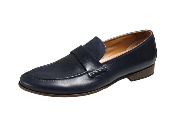 キャサリンハムネットメンズシューズ31610ネイビーUチップスリッポンビジネスシューズ紳士靴