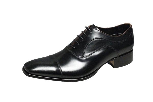 キャサリンハムネット メンズシューズ 31594ブラック KATHARINE HAMNETT 紳士靴ストレートチップ内羽根ビジネスシューズ