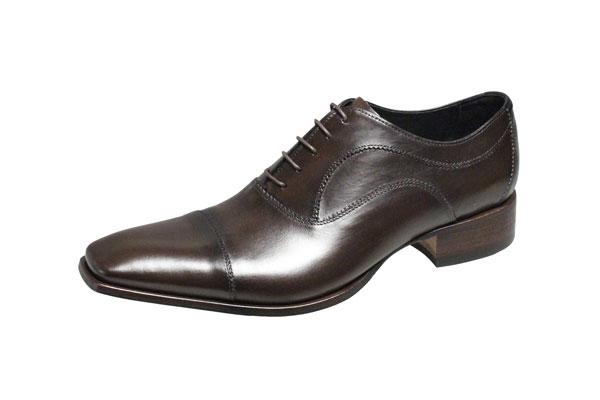 キャサリンハムネット メンズシューズ 31594ダークブラウン KATHARINE HAMNETT 紳士靴ストレートチップ内羽根ビジネスシューズ