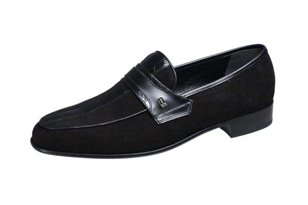 マドラスルテシアメンズドレスシューズmadrasluteciaシックなスエード使いがおしゃれな紳士靴3001ブラックスエード
