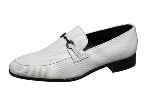 マドラスメンズシューズ3003ホワイトlutecia素材と製法にこだわったイタリアンエレガンスのUチップ紳士靴