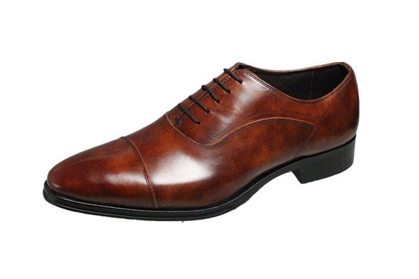 マドラスmadras m411ライトブラウン ストレートチップ ビジネスシューズ 最高のキップ革を使用した履き良さとおしゃれ感のある紳士靴