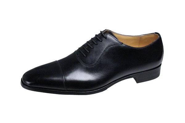 マドラスメンスシューズストレートチップ紳士靴ゴアテックス使用で雨の日の安心高級感のあふれる本格作りのメンズドレスビジネスシューズM152Gブラック