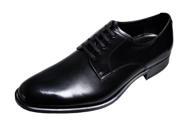 マドラス紳士靴プレーン外羽根式紐付183ブラック【madras】本革メンズシューズ
