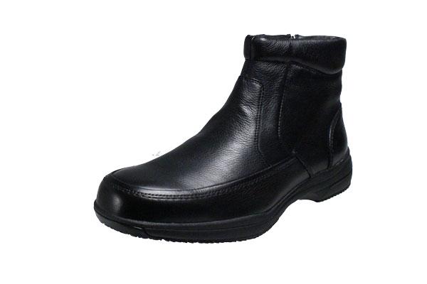 【送料無料】ゴアテックス使用メンズブーツマドラスウオーク6001ブラック【madras Walk】本革カジュアル紳士ブーツ