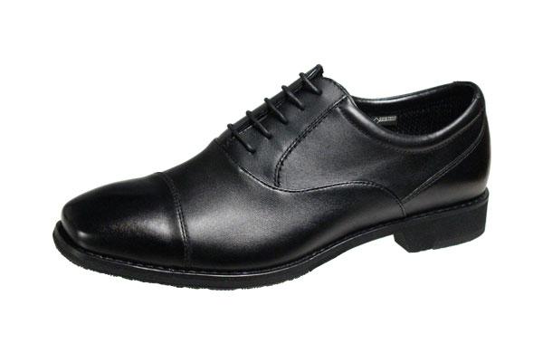 マドラスウオーク6021ブラックゴアテックス防水紳士靴ストレートチップビジネスシューズ