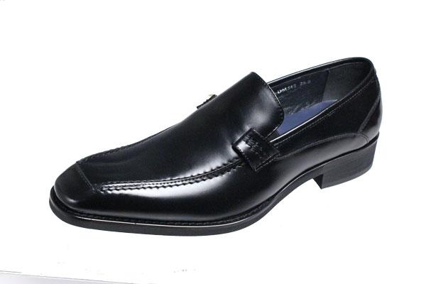 マドラスモデロメンズシューズ MODELLO 紳士靴Uモカスリッポン342ブラック