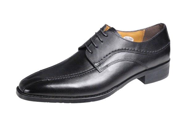 マドラスモデロメンズシューズ流モカ外羽根紐付き紳士靴本革ビジネスシューズ5019ブラック