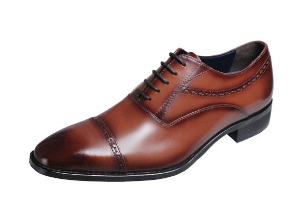 マドラスモデロメンズシューズMODELLOストレートチップ内羽根の紐付紳士靴5044ライトブラウン