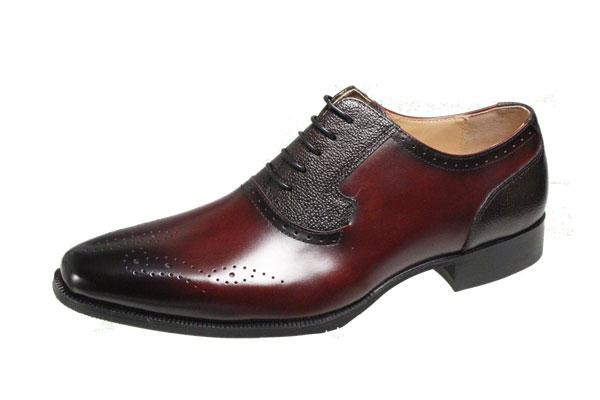 マドラスモデロメンズシューズ9002バーガンディメンズシューズレースアップ紳士靴