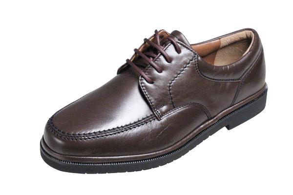【送料無料】モーガンクイーンカジュアルシューズ401ブラウン【MORGAN QUINN】シープ革使用紳士靴