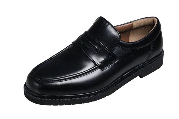 【送料無料】モーガンクイーンカジュアルシューズ403ブラック【MORGAN QUINN】シープ革使用紳士靴