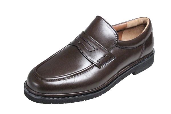 【送料無料】モーガンクイーンカジュアルシューズ403ブラウン【MORGAN QUINN】シープ革使用紳士靴