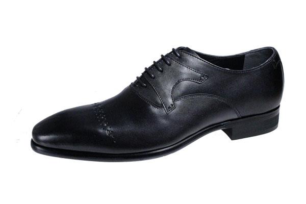トラサルディメンズドレスシューズTRUSSARDLビジネシューズ細見のイタリアンスタイル紳士靴10278ブラック
