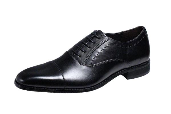 マリオバレンチノ紳士靴MARIO VALENTIBOストレートチップビジネスシューズ3039ブラック
