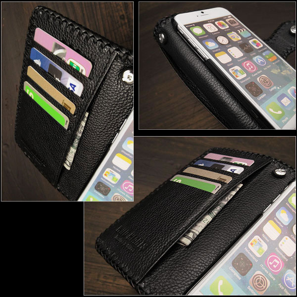 02b1e52fdf ... case functions like a wallet too! And protect your iPhone from everyday  bumps,scratches,marks and dust! genuine,stingray,skin,leather,iPhone,6,6s,7,