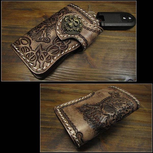 Key Case Leather Keychain Key Wallet