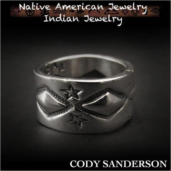 新品 コディ サンダーソン/Cody Sanderson リング 14号インディアンジュエリー シルバー925 ナバホ族 ユニセックスCody Sanderson Long Diamond Star Ring Size US#7 Native AmericanIndian Jewelry Sterling Silver Navajo(ID na3184r73)