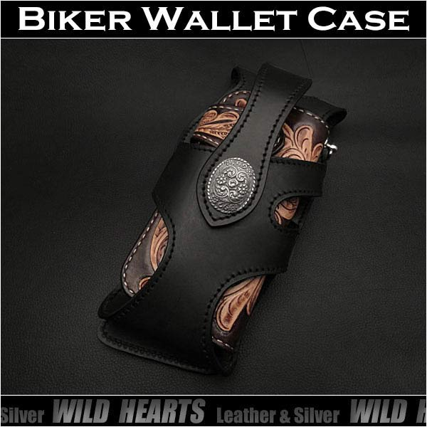 8a6ee900db87 Biker/Wallet/Holster/case/WILD/HEARTS/leather&silver ワイルド ハーツ 正規品取扱店